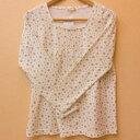 MIA MAIL ミアメール 総柄長袖Tシャツ マタニティ用長袖Tシャツ 薄地の長袖 メール便可能