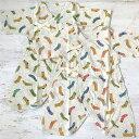 ネブラ Ocean&Ground オーシャンアンドグラウンド コンビ肌着 Socks Socks ソックスソックス ベビー服 下着 出産祝い プレゼント メール便