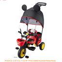 【アイデス/ides】三輪車 カーゴ サンシェード ミッキーマウス  02P03Dec16