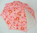 子供用雨具 雨傘 ピンク色クマとお菓子NA-78(38cm/40cm) ビニール傘/女の子  02P03Dec16