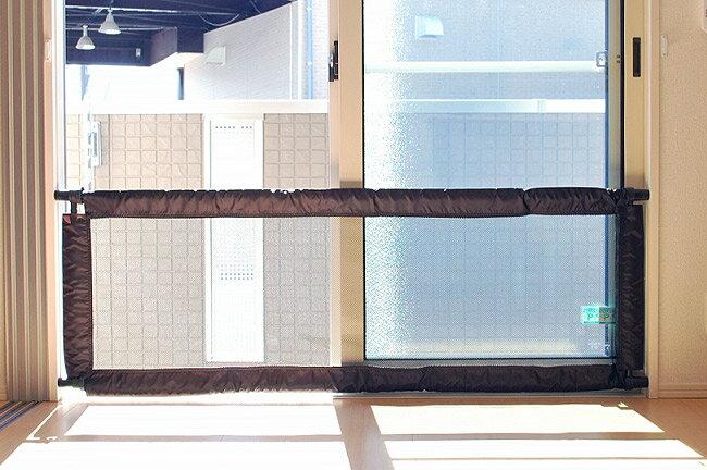[!]【ディック】2WAYくっきりフェンスII Lサイズ(130〜185cm幅) 突っ張り式/ベビーフェンス/ベビーゲート/ベビーサークル/つっぱり棒/セーフティーグッズ/エンドー  02P03Dec16