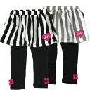 【Barbie/バービー】ストライプ柄レギンススカート(13617)80/95/100/110/120/130/秋冬子供服/女児ボトムス/ベビーサイズ/トドラーサイズ/タキヒヨー/キッズファッション 2P01Oct16