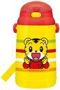 【スケーター】シリコン製ストローホッパー水筒 しまじろう (水筒 ボトル関連)/幼児用食器/キャラクター/子供食器/ランチ用品  02P03Dec16