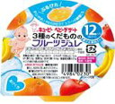 【キューピー QP】FJ-7 3種のくだもののフルーツジュレ /おやつ  02P03Dec16