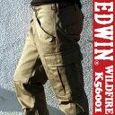 EDWIN WILDFIRE エドウィン ワイルドファイア K56001 メンズ ヴィンテージ カーゴパンツ【カーキ】【アーミーグリーン】【ミリタリー】【カジュアル】【ボトム】【ウィンター】【冬】【RCP】(メール便不可)