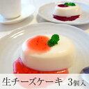 エル・マドロンの生チーズケーキ 3個入り2種類のソース付き
