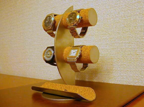 アクセサリースタンド 送料無料ムーン腕時計ディスプレイスタンド!ロングトレイバージョン
