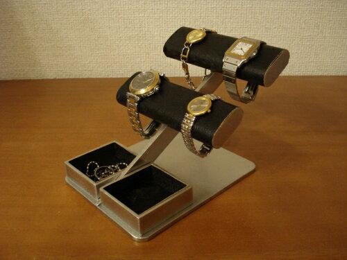 時計スタンド 送料無料ブラック4本掛け時計収納ケース風腕時計スタンド AKD77