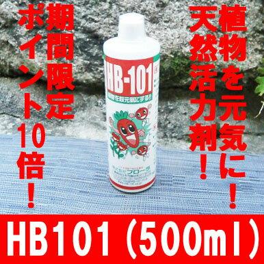 【送料無料】植物を元気にする天然植物活力液!HB101(500cc入り)期間限定ポイント10倍! 100%天然素材の植物活力液!減農薬,有機栽培に!水で薄めるだけで簡単に使えます!【HB-101】【ポイント10倍】【天然活力剤】【減農薬】【有機栽培】【送料無料】