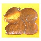 每个志摩日苏大木板[木製 めいめい皿 しまりす 大]