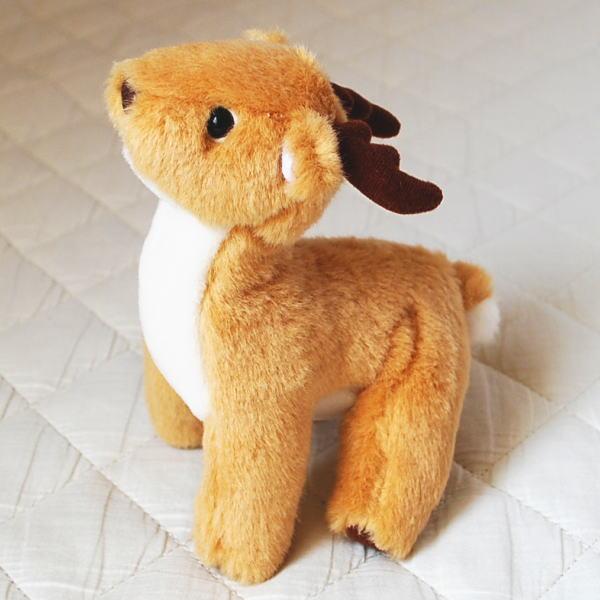 動物 アニマル ぬいぐるみ しか  どうぶつ シカ 鹿 縫いぐるみ クリスマス 誕生日 ギフト プレゼント 贈り物 インテリア 置物 オブジェ バンビ