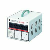 【個数:1個】スワロー電機(SWALLOW) [AG-1500N] 「直送」【代引不可・他メーカー同梱不可】海外・国内兼用型トランス 海外 変圧器 AG1500N 【送料無料】