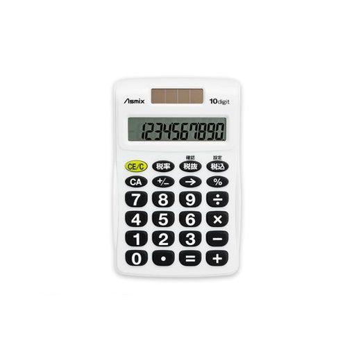 アスカ [C1009BK] ビジネス電卓 S ブラック C1009BK【AKB】