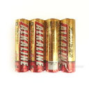 三菱 アルカリ乾電池 単3形 4本パック LR6R/4S ◆