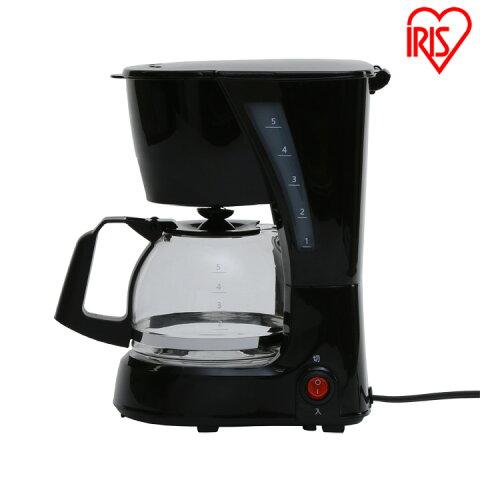 コーヒーメーカー ブラック CMK-650P-Bコーヒードリップ 保温 ペーパーレス コーヒー アイリスオーヤマ【D】
