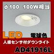 AD41916L 防雨型ダウンライト LED(電球色) コイズミ照明(SX) 照明器具
