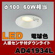 AD41934L 防雨型ダウンライト LED(電球色) コイズミ照明(SX) 照明器具