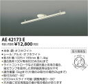 AE42173E 簡易取付型スライドコンセント(1025mm) コイズミ(SX) 照明器具