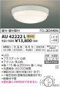 AU42222L 防雨防湿型シーリング (FCL30Wクラス) LED(電球色) コイズミ(SX) 照明器具