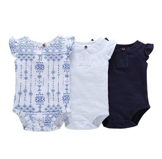 メール便送料無料出産祝い70/80cmベビーロンパースフリルフリル袖TシャツTシャツ無地半袖カバーオ