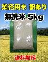 【業務用 訳あり 無洗米 5kg 送料無料】新潟県産米 お米 送料無料 無洗米 未検査