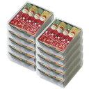 【クリスマスまとめ買い】サンタおかき10個セット.(銀座あけぼの お菓子 プレゼント)