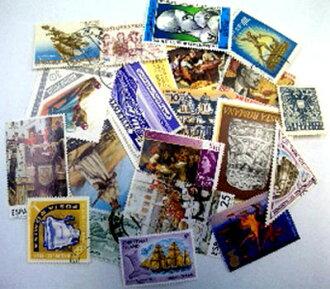 사용 된 해외 우표 アソートパック JAN4562260972245의 진/멋쟁이 잡화/장식/스탬프