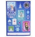 【在庫限り】アナと雪の女王 切手 A5サイズ 連絡ノート(たてがき)NO.60289 れんらくちょう