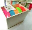 5巻パックのギフトボックス。明るく夜を彩るネオンサインのような色の組み合わせ「ネオン」です。