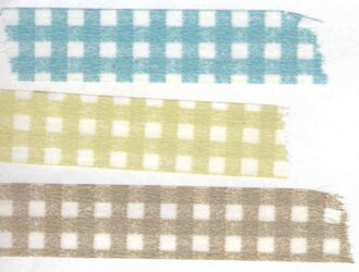 Kurashiki architectural planning Office masking tape 13 mm × 3 colors set (gingham) 45026-01