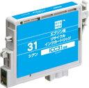 【エコリカインク(プリンター用交換インク)】エプソン互換品 ICC31互換 ECI-E31C シアン【コンパクト可】
