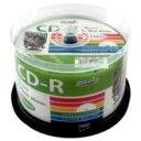 お買い得海外メディア【CD-R】データ用 HIDISK HDCR80GP50 / 700MB / 2-52倍速 / 50枚 /プリンタブル