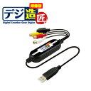 【アウトレット】プリンストン『デジ造 映像版』USBビデオキャプチャーユニット PCA-DAV2 映像編集ソフト付き