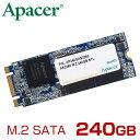 Apacer アペイサー M.2 SATAIII 接続 SSD AS2260シリーズ 240GB [AP240GAS2260-1]