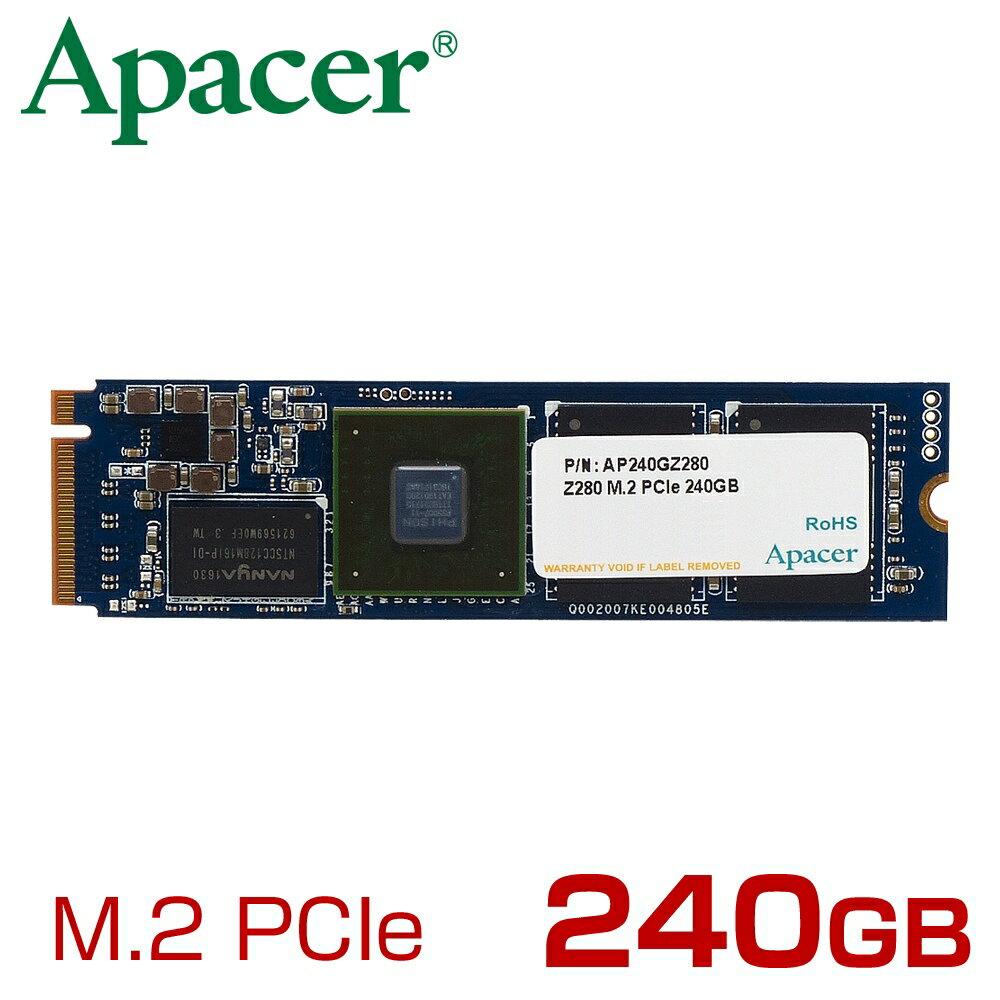 Apacer アペイサー M.2 PCIe NVMe 接続 SSD Z280シリーズ 240GB [AP240GZ280-1] [C201612SSD]