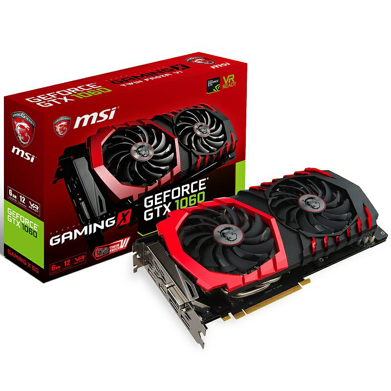 msi エムエスアイ ビデオカード GeForce GTX 1060 GAMING X 6G [NVIDIA GeForce GTX 1060 / 6GB]