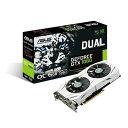 ASUS エイスース ビデオカード DUAL-GTX1060-O6G [NVIDIA GeForce GTX 1060 / 6GB]