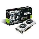 ASUS エイスース ビデオカード DUAL-GTX1070-O8G [NVIDIA GeForce GTX 1070 / 8GB]