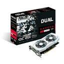 ASUS エイスース ビデオカード DUAL-RX460-O2G [AMD Radeon RX 460 2GB]