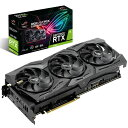 ASUS エイスース グラフィックボード ROG-STRIX-RTX2080-O8G-GAMING [NVIDIA GeForce RTX 2080 / 8GB]