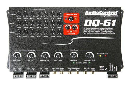 AUDIO CONTROL(オーディオコントロール)DQ-616chデジタルシグナルプロセ…...:akiba-inpulse:10002558