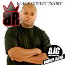 【新素材「ケブラー」による強力Tシャツ】ケブラー防刃T-シャツ「ブレードランナー(BLADE RUNNER)」色/黒