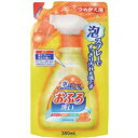 日本合成洗剤 おふろ洗剤泡スプレー つめかえ用 350ml [振込不可]