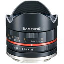 SAMYANG(サムヤン) 8mm F2.8 UMC FISH-EYEII ブラック [ソニーEマウント{APS-C)] 対角線魚眼レンズ(MFレンズ)