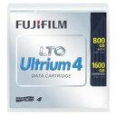 FUJIFILM(フジフイルム) LTO FB UL-4 800G U LTOデータカートリッジ 1巻パック(800GB/圧縮時1600GB) LTOFBUL4800GU