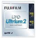FUJIFILM(フジフイルム) LTO FB UL-2 200G J LTOテープカートリッジ 1巻パック(200GB/圧縮時400GB) LTOFBUL2