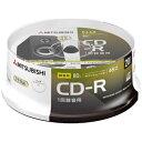 三菱ケミカルメディア 音楽用CD-R 1-48倍速 700MB 20枚【スピンドル / インクジェットプリンタ対応】 MUR80FP20SD1-B 【ビックカメラグループオリジナル】 MUR80FP20SD1B