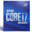 intel(インテル) 〔CPU〕 Intel Core i7-10700K BX8070110700K BX8070110700K