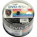 HDDR47JNP50 DVD-R DVDR データ用 16倍速50枚