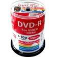 【ハイディスク HI DISC】HDDR12JCP100 (DVD-R 16倍速100枚)【CPRM対応】